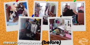 Messy Room Makover